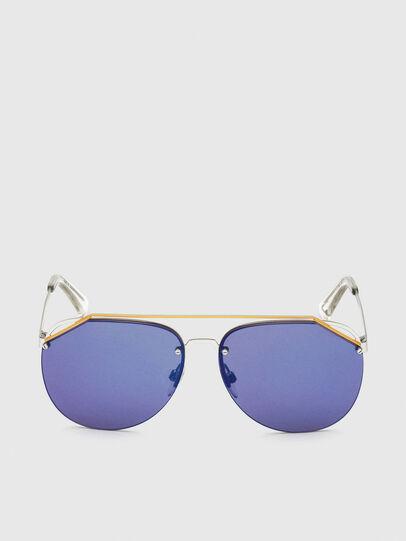 Diesel - DL0314, White/Blue - Sunglasses - Image 1