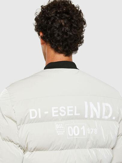 Diesel - W-ON-A, White - Winter Jackets - Image 4
