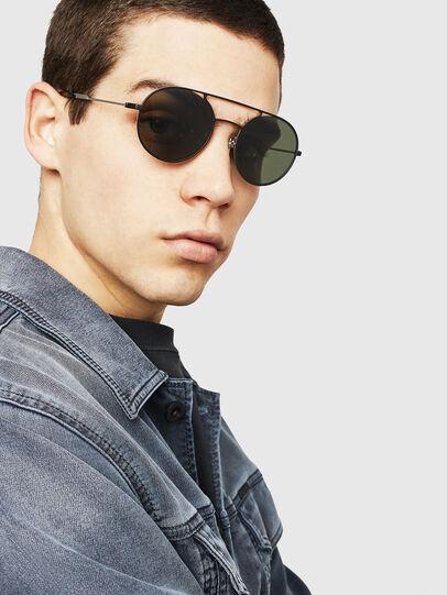 Diesel - DL0301, Black/Gold - Sunglasses - Image 6