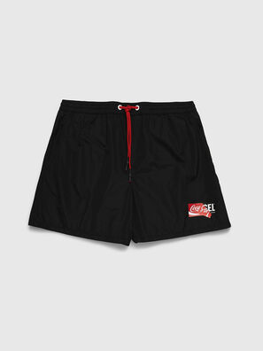 CC-WAVE-COLA, Black - Swim shorts