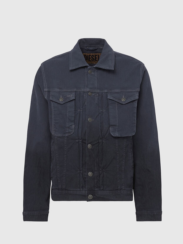 D-YOGI-SP JOGGJEANS, Dark grey - Denim Jackets