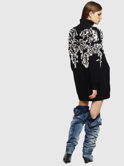 Diesel - M-CV-FURS, Black - Knitwear - Image 4