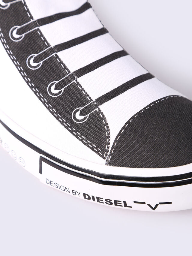 S-DIESEL IMAGINEE MID SLIP-ON, White