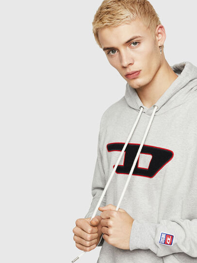 Diesel - S-DIVISION-D, Grey - Sweaters - Image 3