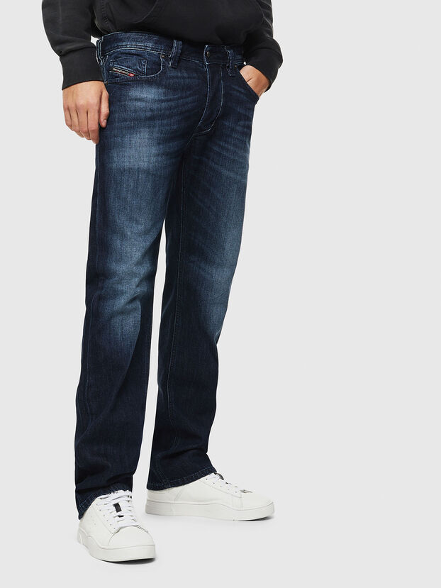 Larkee 0095W, Dark Blue - Jeans
