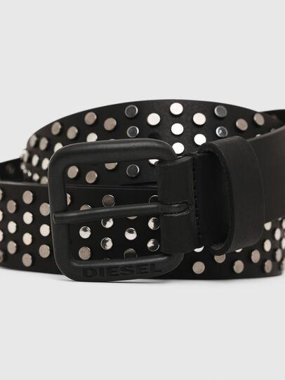 Diesel - B-GOUJONS, Black - Belts - Image 2