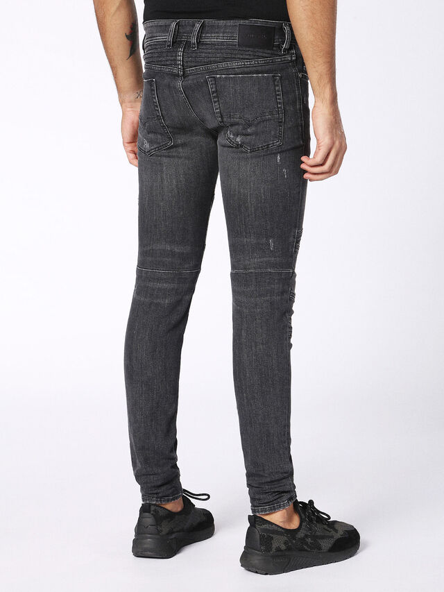 Diesel - Fourk 084NQ, Black/Dark grey - Jeans - Image 2