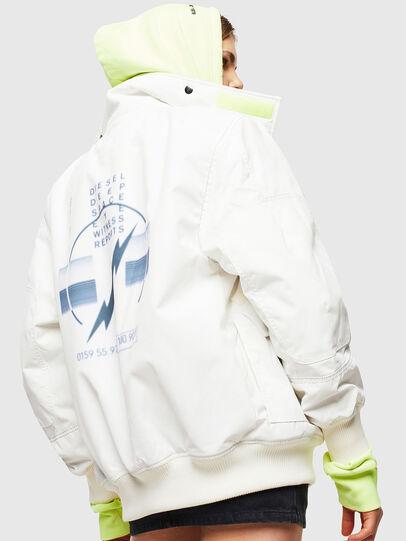 Diesel - W-OKSO, White - Winter Jackets - Image 3