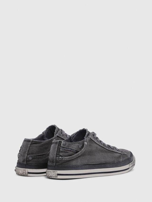 Diesel - EXPOSURE IV LOW  W, Metal Grey - Sneakers - Image 3