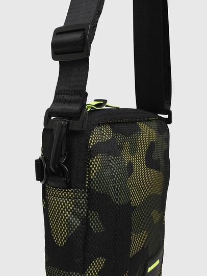 Diesel - ODERZO, Green Camouflage - Crossbody Bags - Image 4