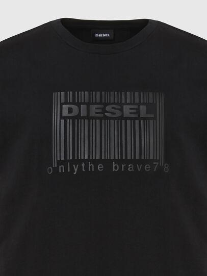 Diesel - T-DIEGOS-N35, Black - T-Shirts - Image 3