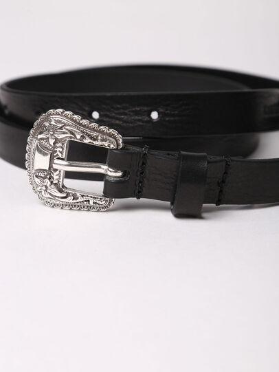 Diesel - B-TEXY, Black - Belts - Image 2