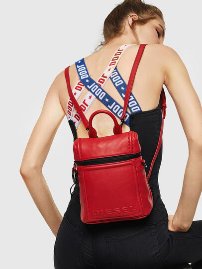 Diesel - ERACLEA, Fire Red - Backpacks - Image 7