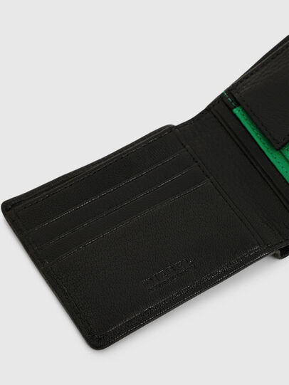 Diesel - HIRESH S, Black/Green - Small Wallets - Image 4