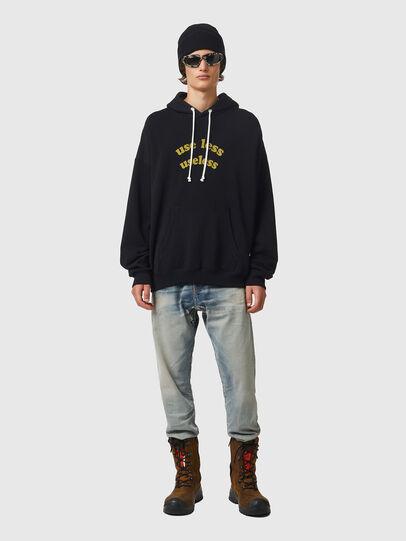 Diesel - S-UMMER-B10, Black - Sweaters - Image 4