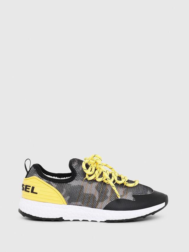 Diesel - SN LOW 10 S-K YO, Gray/Black - Footwear - Image 1