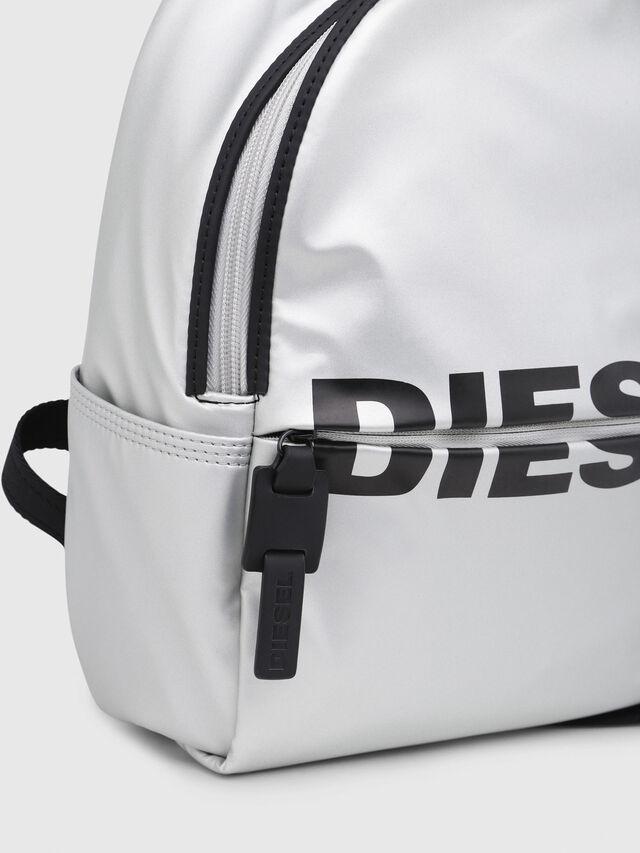 Diesel - F-BOLD BACK FL, Silver - Backpacks - Image 4