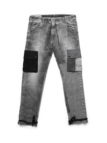 Diesel - D-ARGO-JOGG, Black/Dark grey - Pants - Image 1