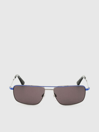 Diesel - DL0308, Blue/Grey - Sunglasses - Image 1