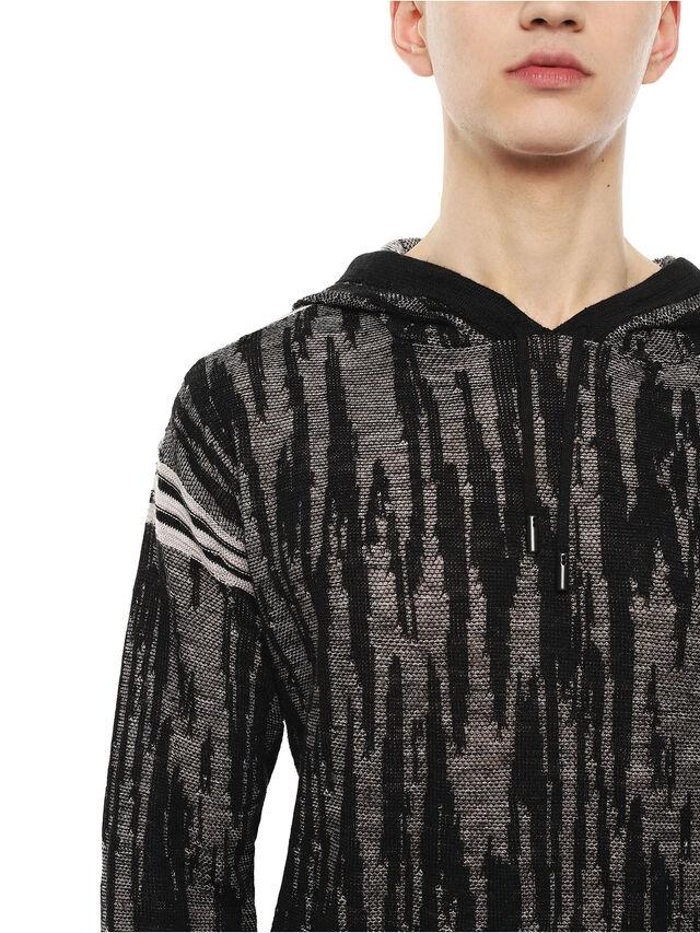 Diesel - KYSE, Black - Knitwear - Image 3