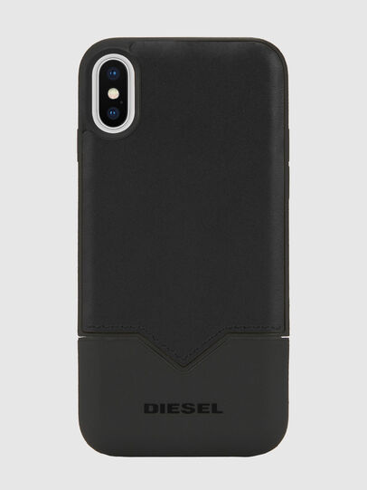 Diesel - CREDIT CARD IPHONE X CASE, Black - Cases - Image 5