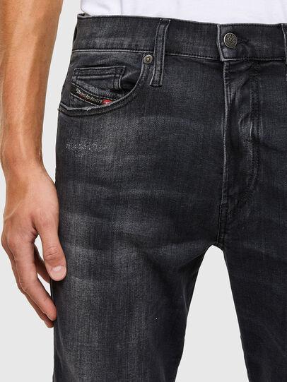 Diesel - D-Istort 069RL, Black/Dark grey - Jeans - Image 3