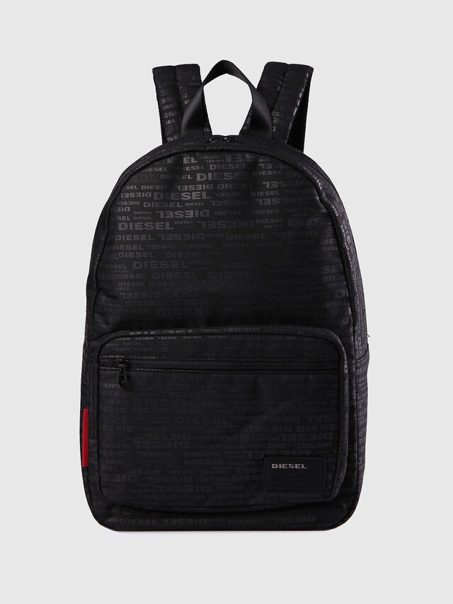 Diesel F-DISCOVER BACK, Black/Red - Backpacks - Image 1