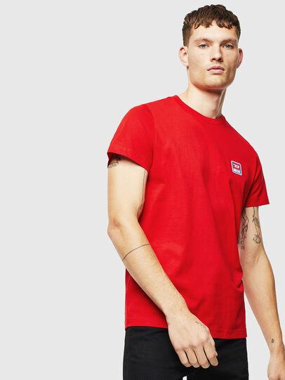 Diesel - T-DIEGO-DIV, Red - T-Shirts - Image 1