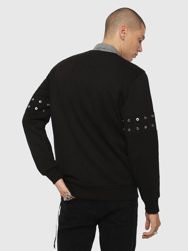 Diesel - S-GIR-XMAS, Black - Sweaters - Image 2
