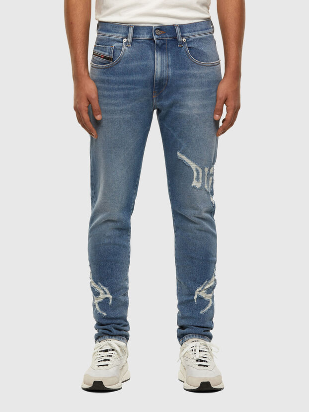 D-Strukt 009DW, Light Blue - Jeans