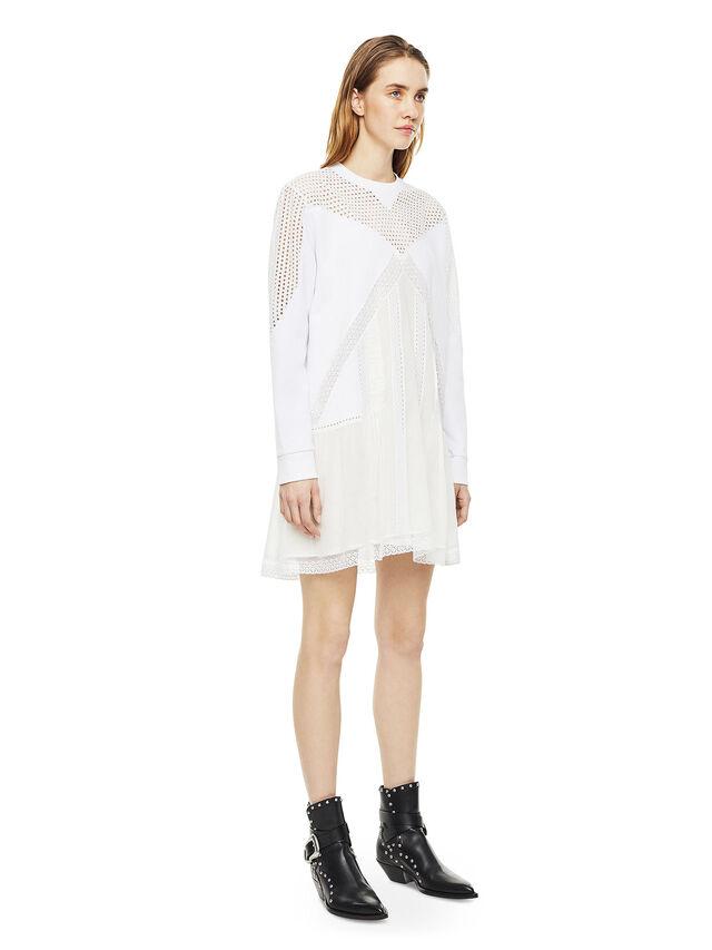 Diesel - DEMIX, White - Dresses - Image 6