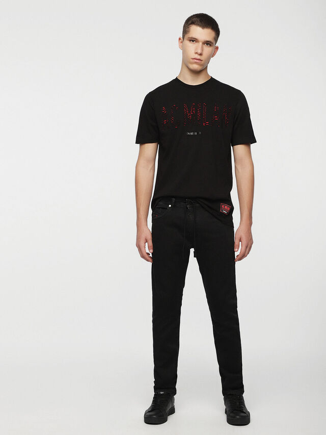 Diesel - DVL-TOBA-CAPSULE, Black - T-Shirts - Image 5
