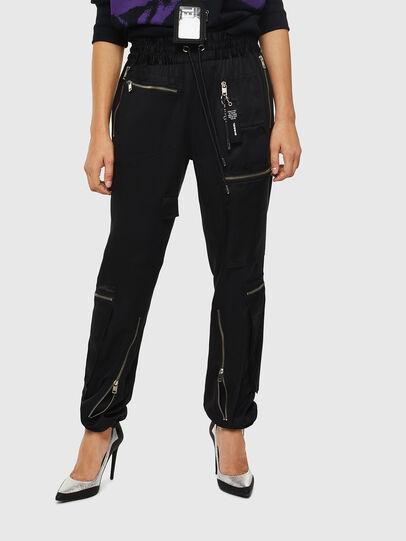 Diesel - P-LEX, Black - Pants - Image 1