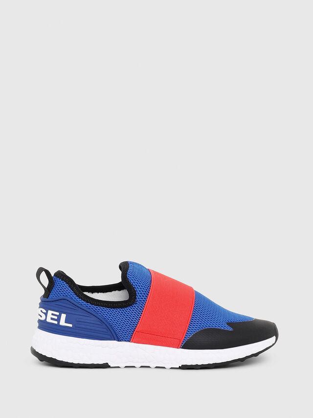 Diesel - SN SLIP ON 16 ELASTI, Blue/Red - Footwear - Image 1