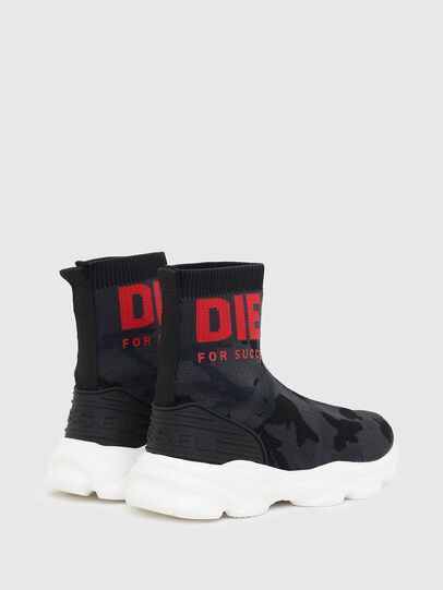 Diesel - S-SERENDIPITY SO MID, Black/Red - Footwear - Image 3