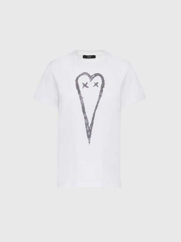 T-SILY-E53, White - T-Shirts