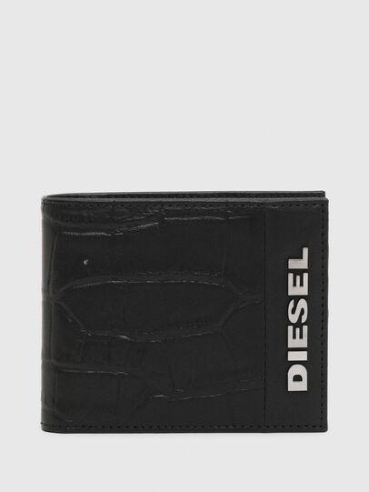 Diesel - HIRESH S, Black - Small Wallets - Image 1