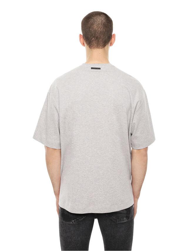 Diesel - TEORIA-MELTINGSOLDIE, Grey - T-Shirts - Image 2