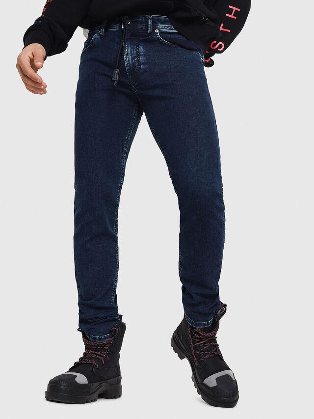Diesel - Thommer JoggJeans 8880V, Dark Blue - Jeans - Image 1