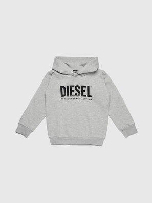 SDIVISION-LOGO OVER, Grey - Sweaters