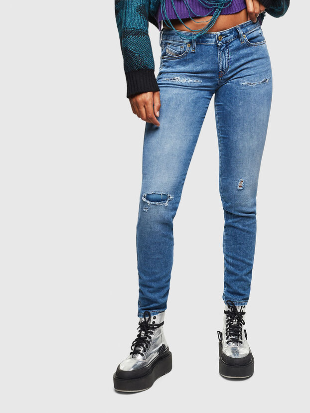 Gracey JoggJeans 069IH, Light Blue - Jeans