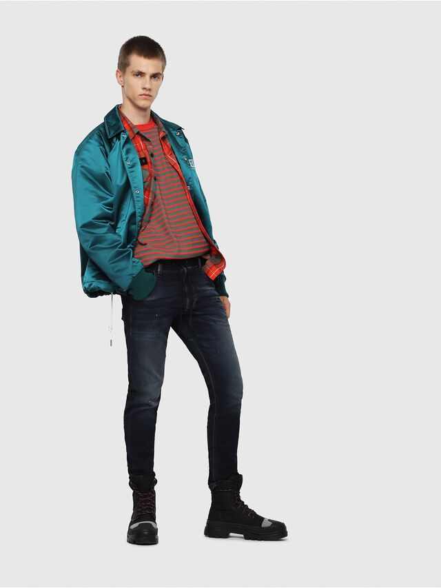 Diesel - Krooley JoggJeans 069DQ, Dark Blue - Jeans - Image 5