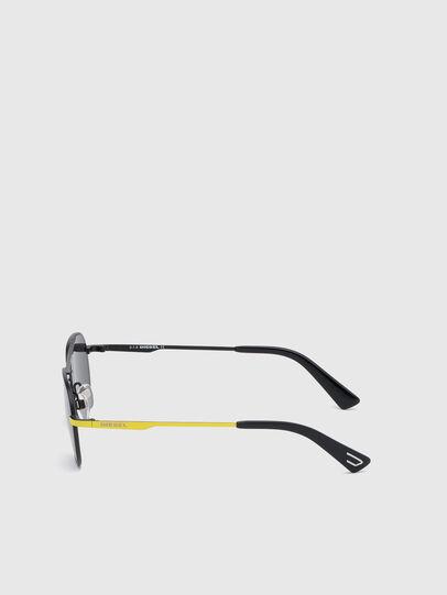 Diesel - DL0291, Black/Yellow - Kid Eyewear - Image 3