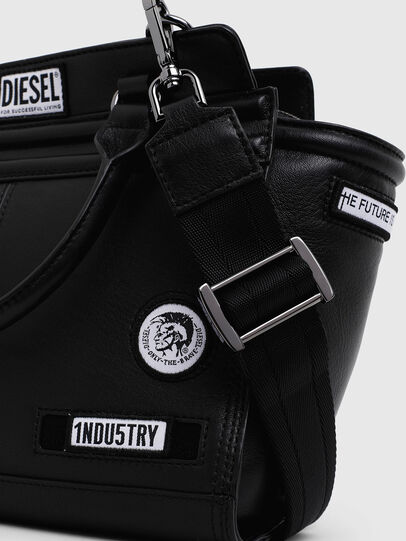 Diesel - LE-ZIPPER SATCHEL S,  - Shopping and Shoulder Bags - Image 3