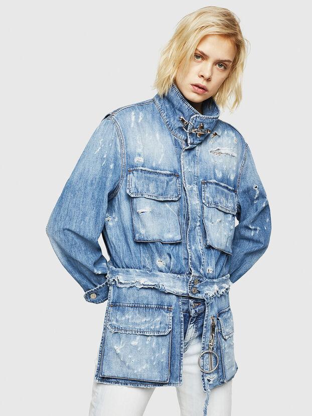 DE-MERYL, Blue Jeans - Denim Jackets