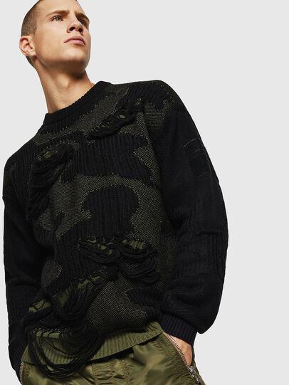 Diesel - K-MUSCHIO, Black - Knitwear - Image 4