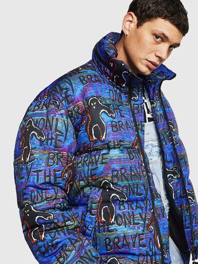 Diesel - W-PIATIG-MONSTER, Blue/Black - Winter Jackets - Image 3