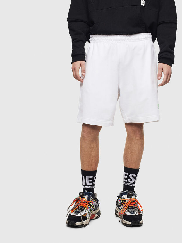 P-BOXIER, White - Shorts
