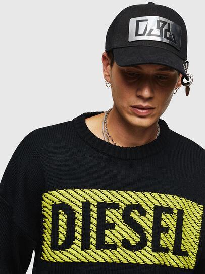 Diesel - K-LOGOX-C, Black - Knitwear - Image 3