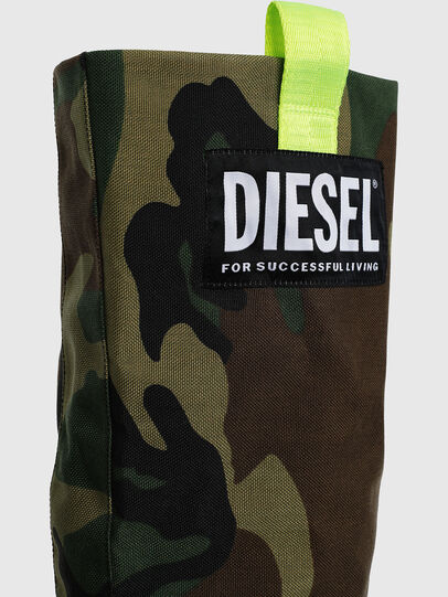 Diesel - D-SLANTY HOTK, Green Camouflage - Boots - Image 4